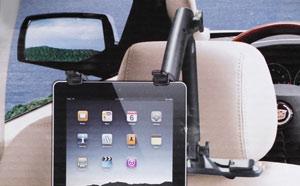 De iPad mee in de auto?