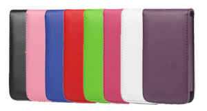 Verticale flip-over case voor de iPod Touch 4G