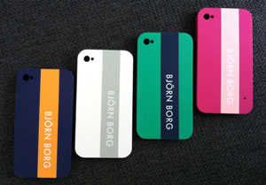 Björn Borg cases voor de iPhone