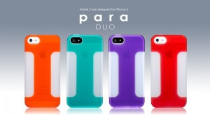 Para Duo case voor de iPhone 5