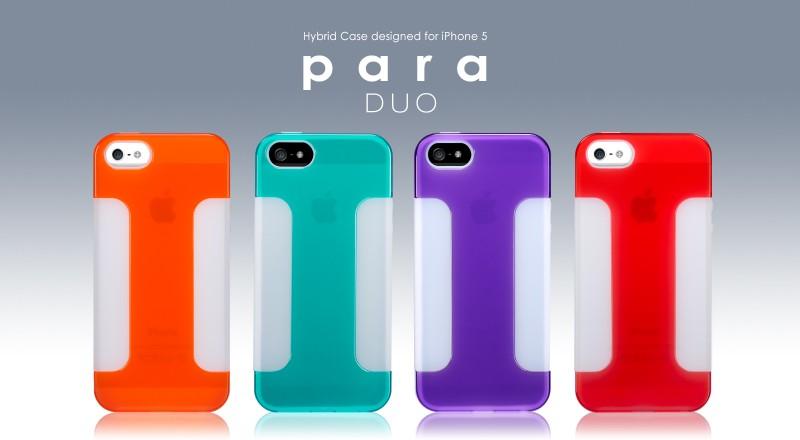 Para Duo case voor de iPhone 5