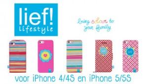 Lief! hoesjes bij iPhoneCompleet.nl