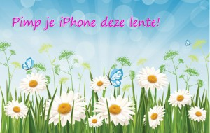 Het is  lente: pimp je iPhone!