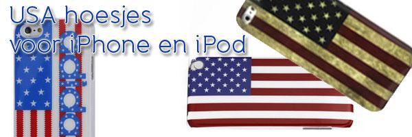 Mooie hoesjes met de Amerikaanse vlag